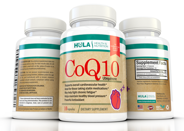 CoQ10 for Cardiovascular & Heart Health