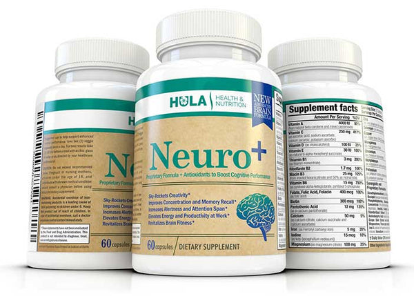 Neuro+ Powerful Cognitive Enhancer