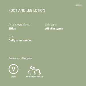 Foot and Leg Lotion