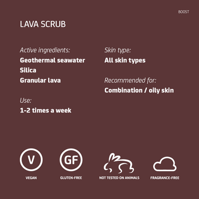 Lava Scrub Travel Size