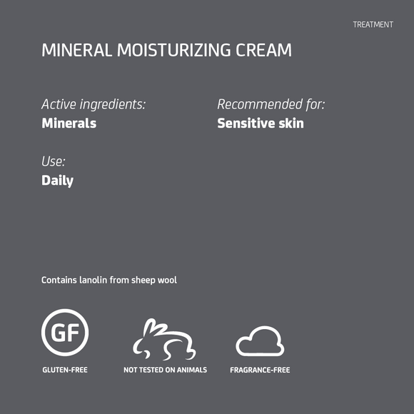 MINERAL MOISTURIZING CREAM 1 FL.OZ