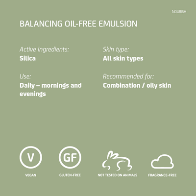 Balancing Oil-Free Emulsion  - for oily skin