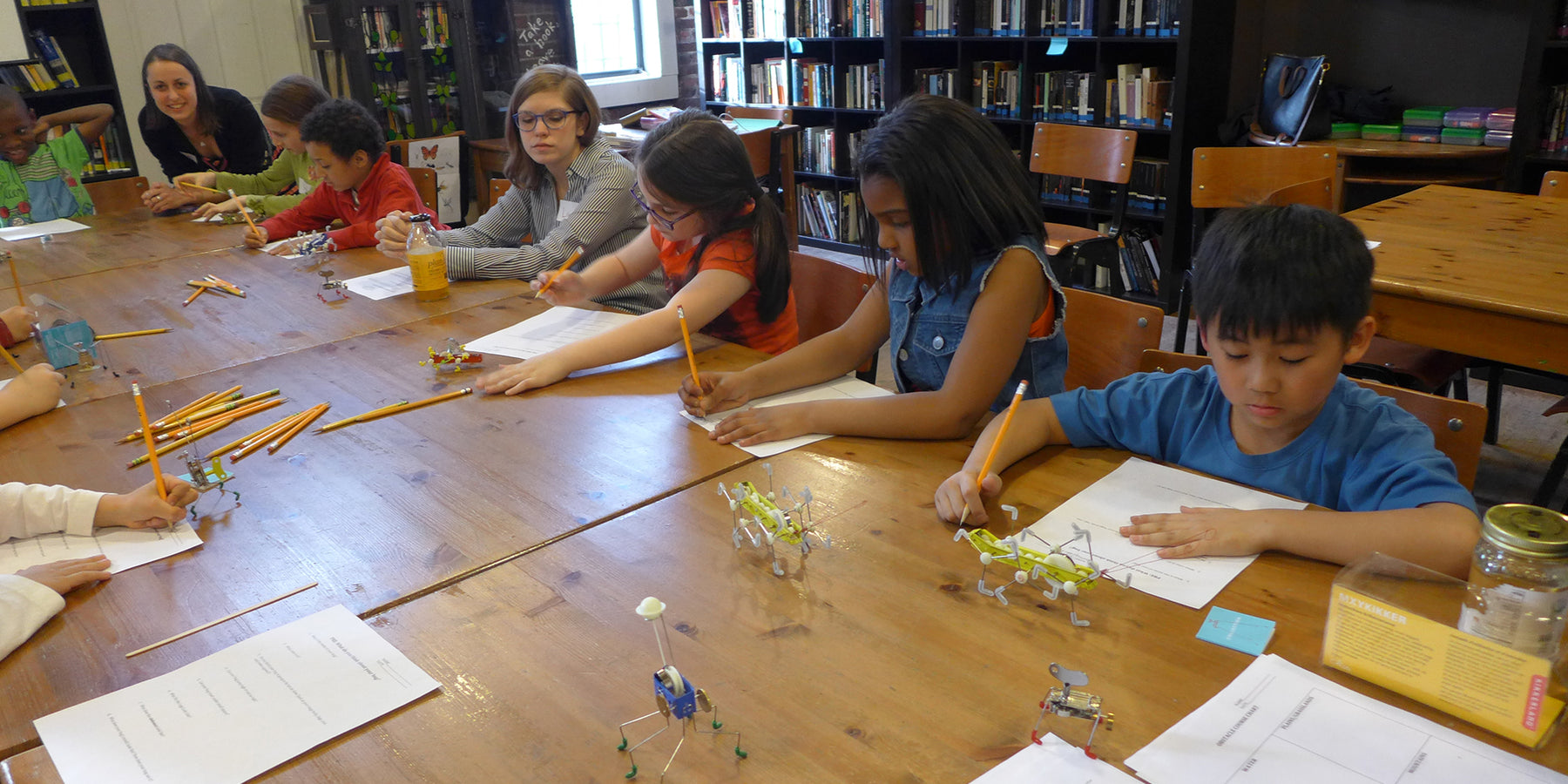 A BUG'S WORLD: KIKKERLAND SPONSORS A CREATIVE WRITING AND CRAFT WORKSHOP FOR STUDENTS