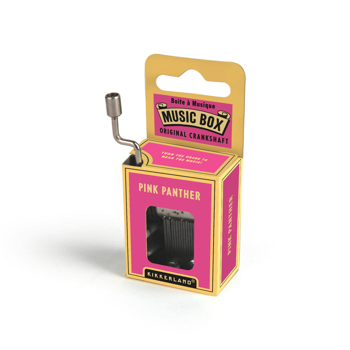 Pink Panther Crank Music Box