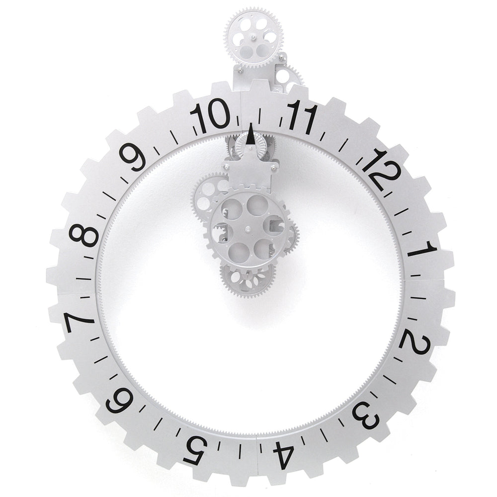 Big Wheel Hour Clock