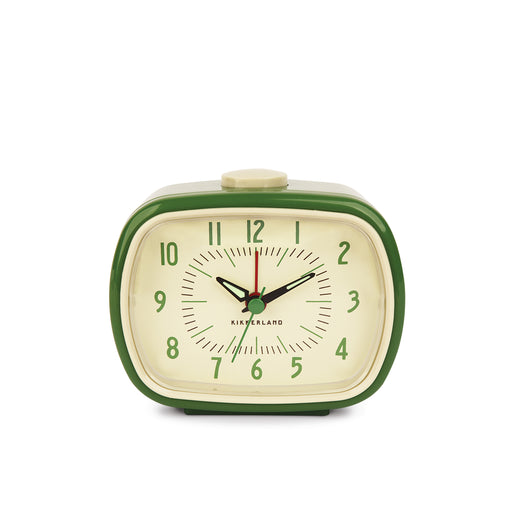 Retro Alarm Clock + Green