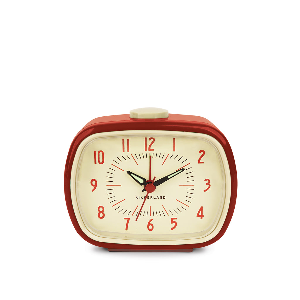 Retro Alarm Clock + Red