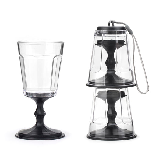Stacking Wine Glass Set Of 2