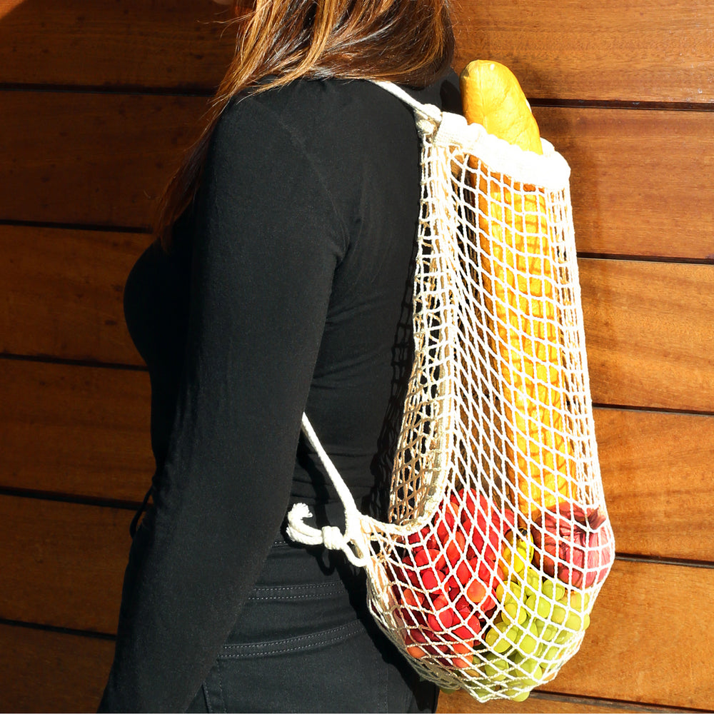 Cotton Net Backpack