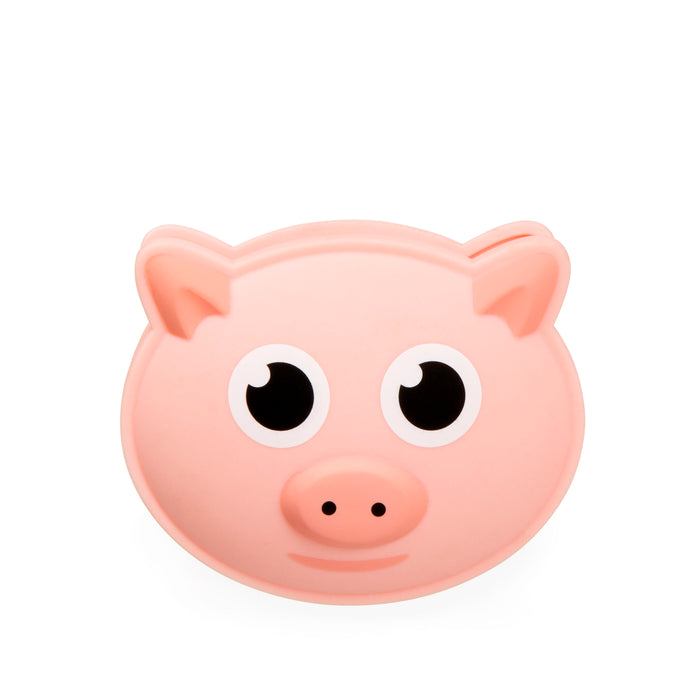 Bag Clip + Talking Pig