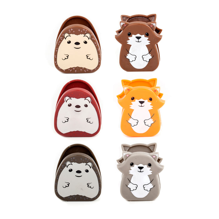 Woodland Bag Clips Set Of 6