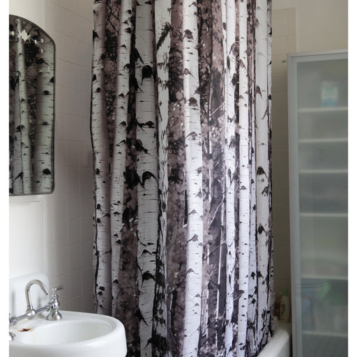 Shower Curtain Birch