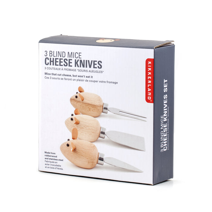 Cheese Knives Mice Set Of 3