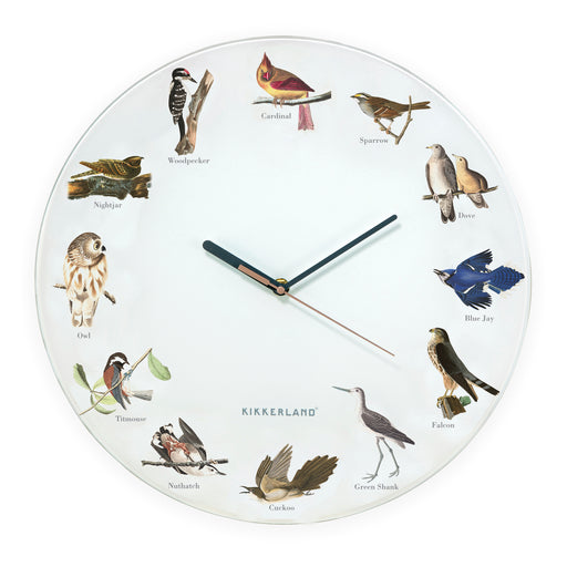 Bird Call Wall Clock