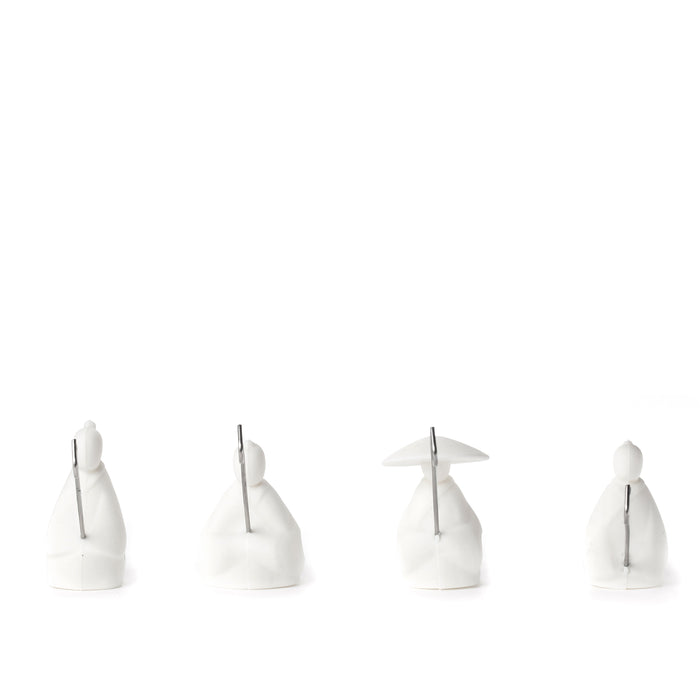 Tea Holder Fisherman Set Of 4