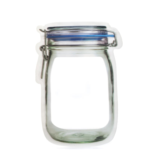 Zipper Mason Jar Large Bag