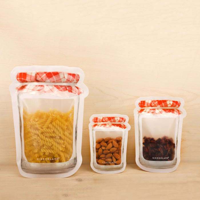 Jam Jar Zipper Bag - Large