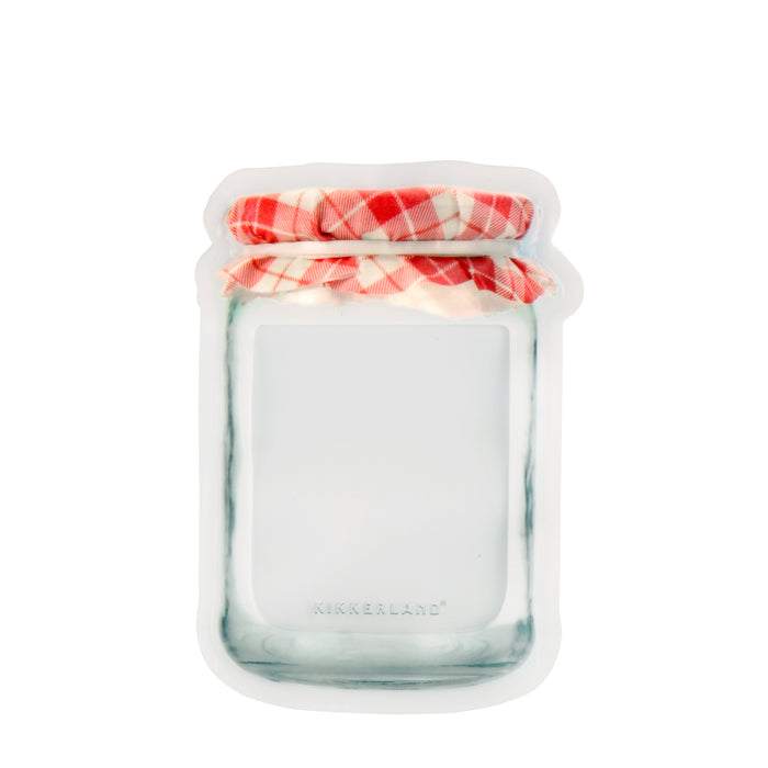 Jam Jar Zipper Bag - Small