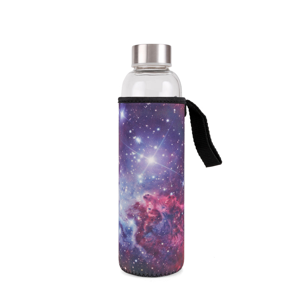Galaxy Glass Bottle + Sleeve