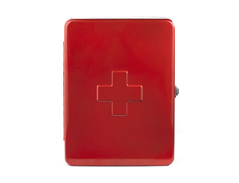 First Aid Box Large Red