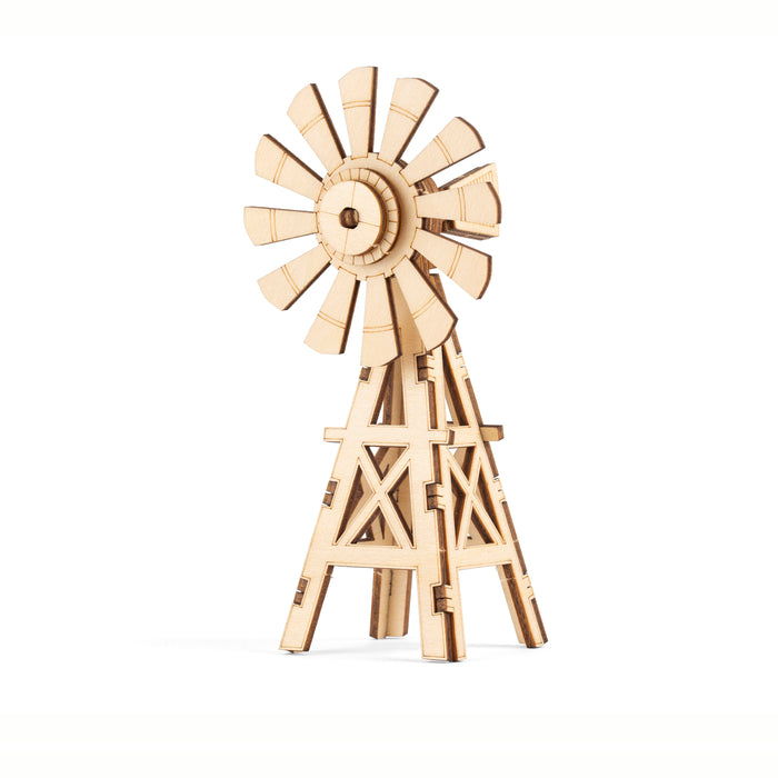 Windmill 3D Wooden Puzzle