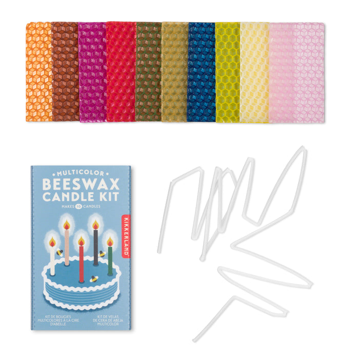 Multicolor Beeswax Candle Kit