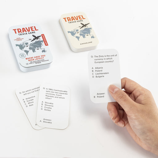 Travel Trivia Game