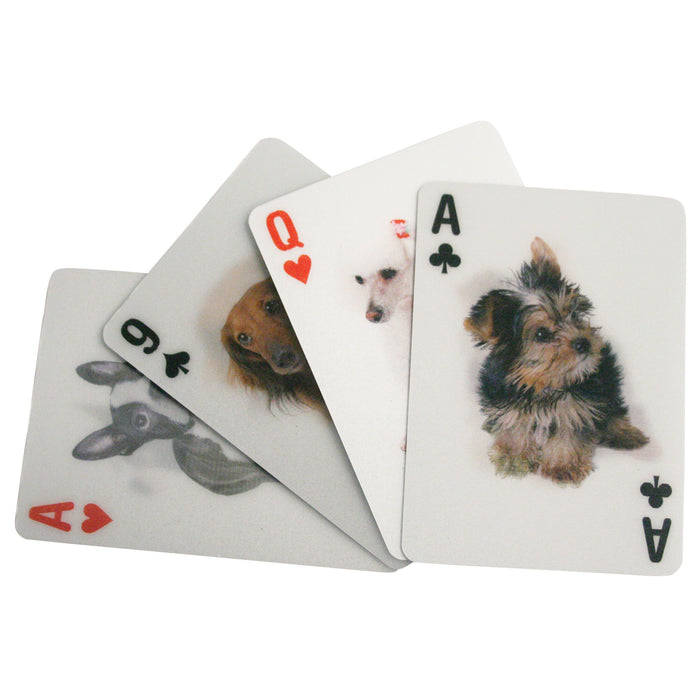 Playing Cards Dogs 3D