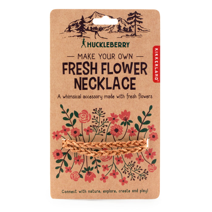 Huckleberry Make Your Own Fresh Flower Necklace
