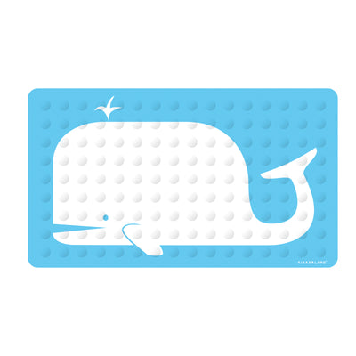 splash bubbly mat aqua accessories whale p kushies bath mats
