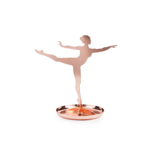 Ballerina Jewelry Stand Copper