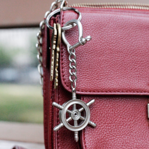 Keychain Nautical Wheel