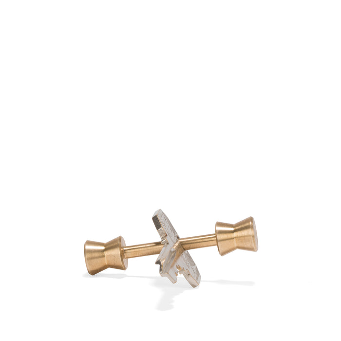 Short Cone Brass Key Holder