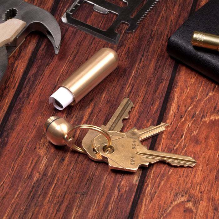 Everyday Carry Brass Keyrings