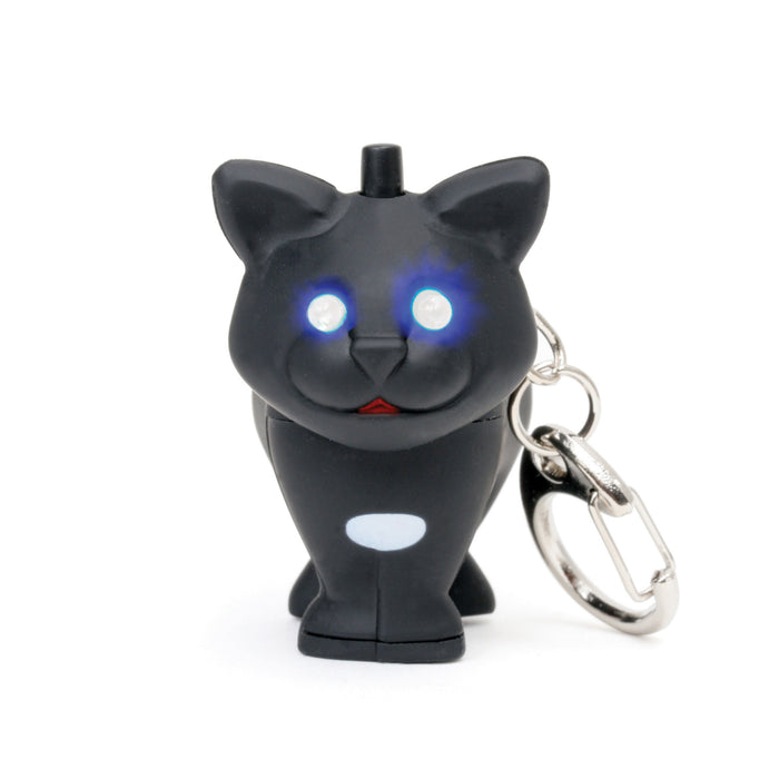 Cat Led Keychain