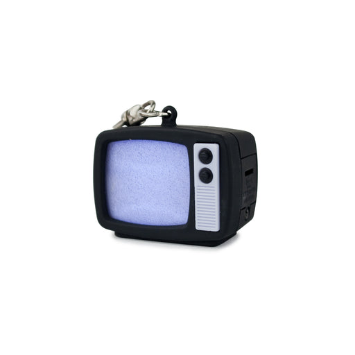 TV Static LED Keychain