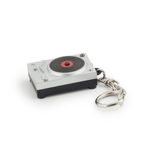 Turntable LED Keychain