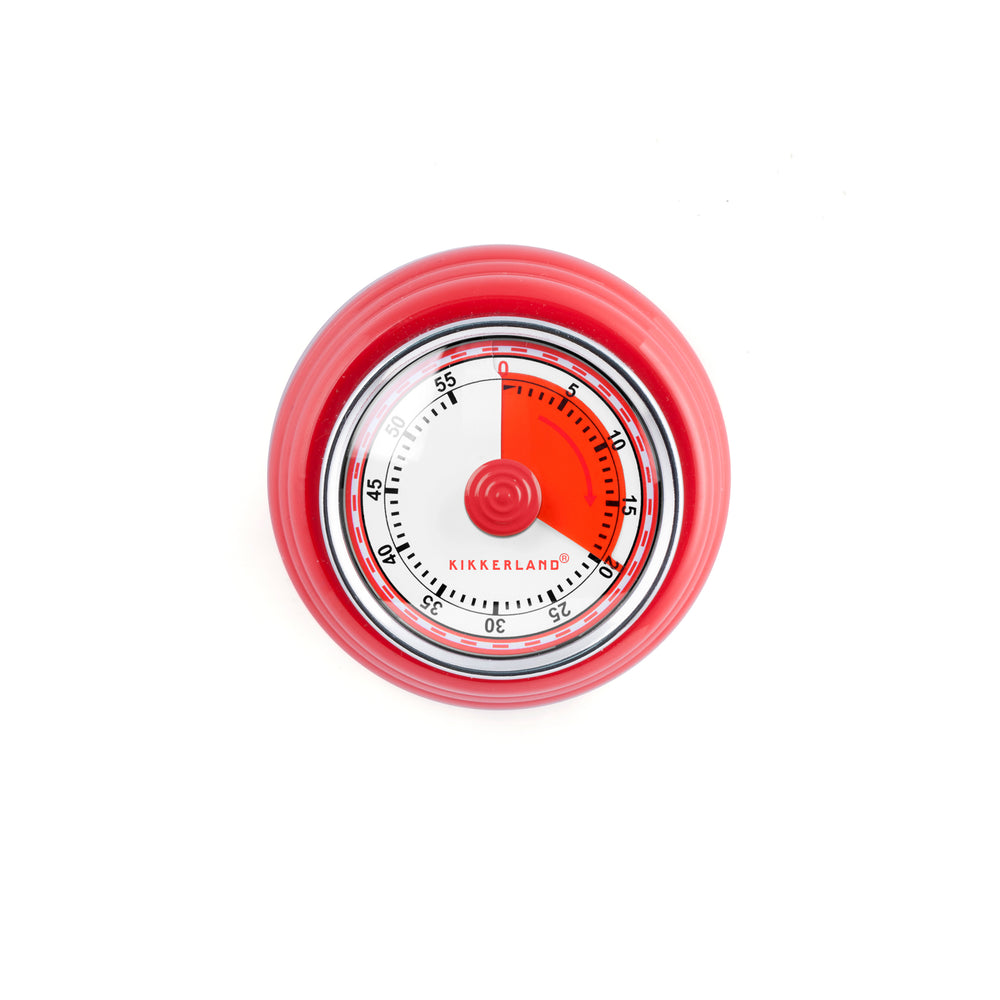 Red Magnetic Kitchen Timer