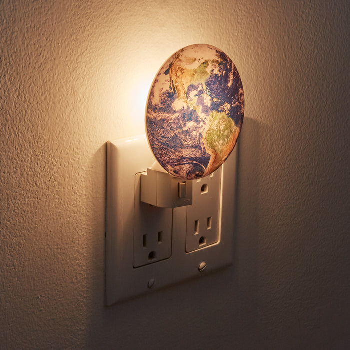 Night Light + Earth