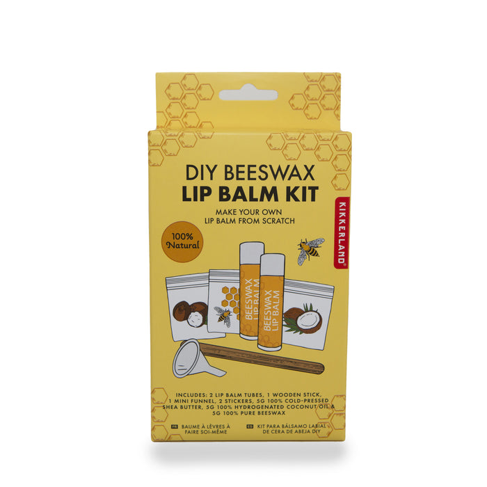 DIY Beeswax Lip Balm kit