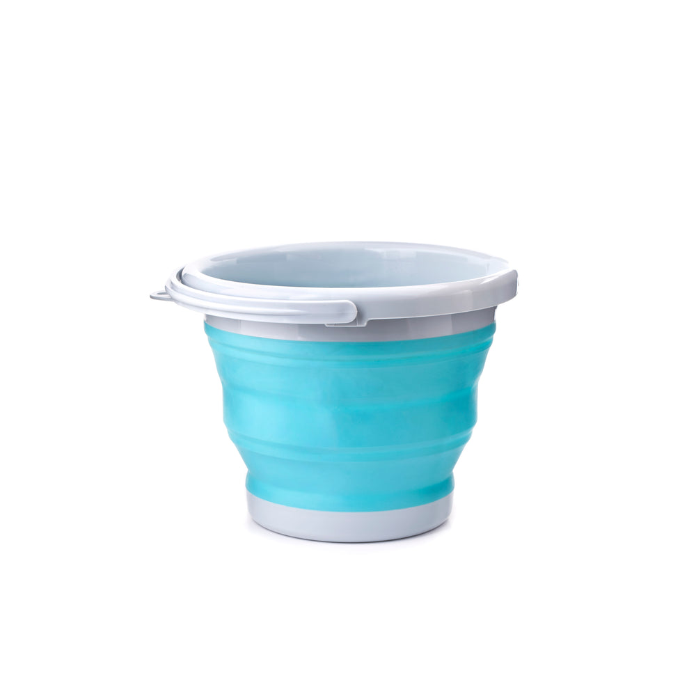 Collapsible Bucket Aqua