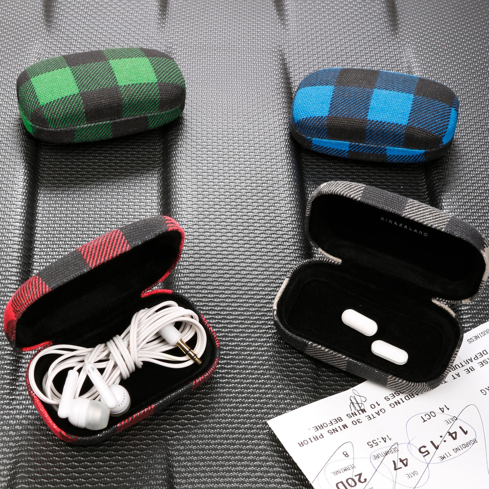 Buffalo Plaid Travel Case