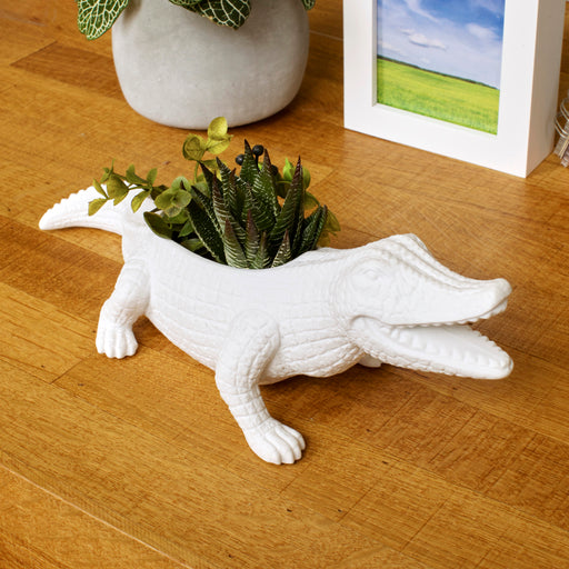 Chomp Gator Planter