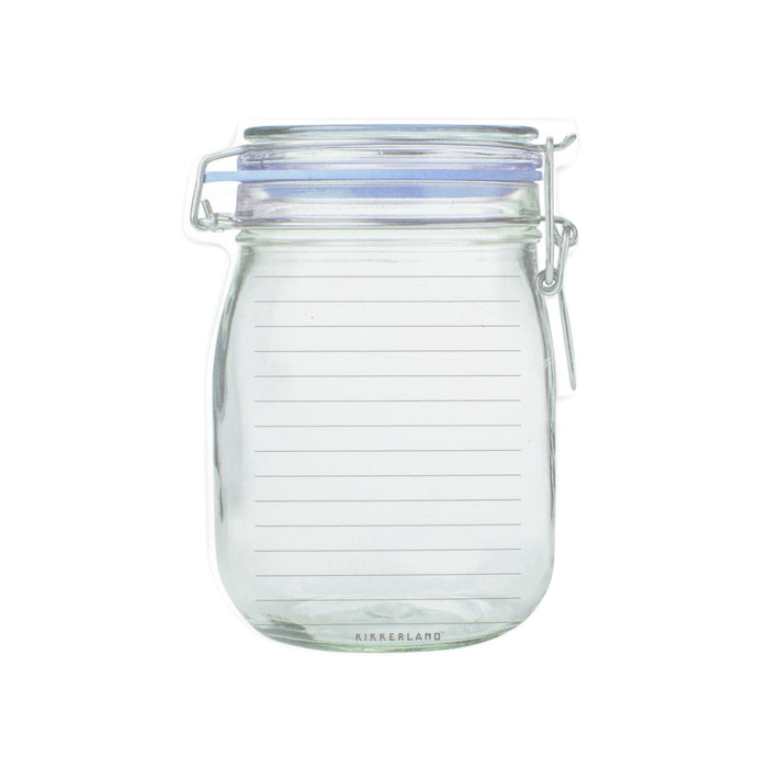 Mason Jar Notepad