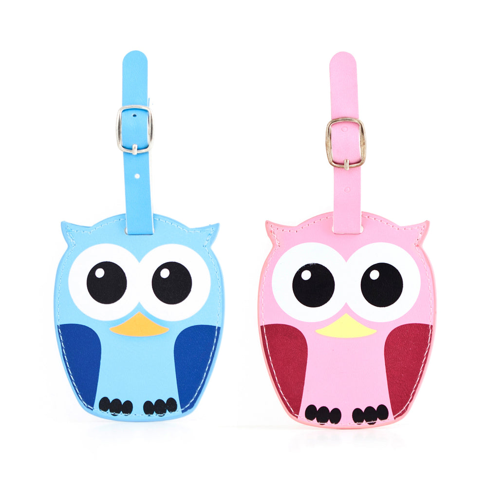 Luggage Tags + Whoo Owl Assorted