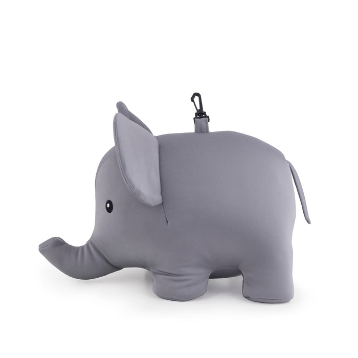 Zip And Flip Elephant Pillow