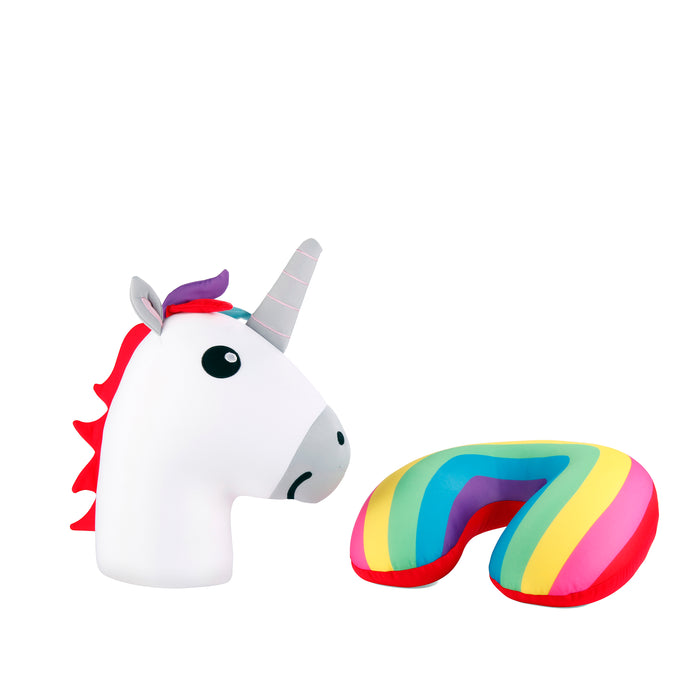 Unicorn Zip & Flip Pillow