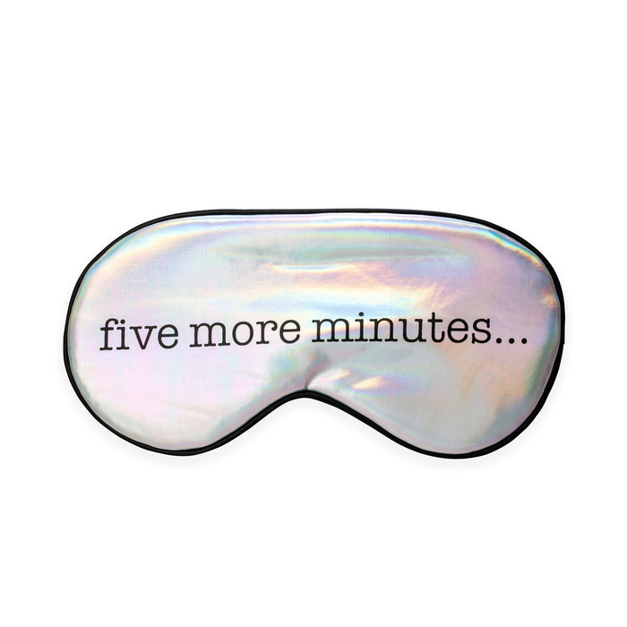 Ultra Soft Sleepmask - Five More Minutes