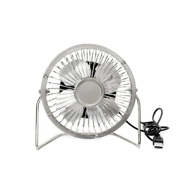 USB Desk Fan - Silver