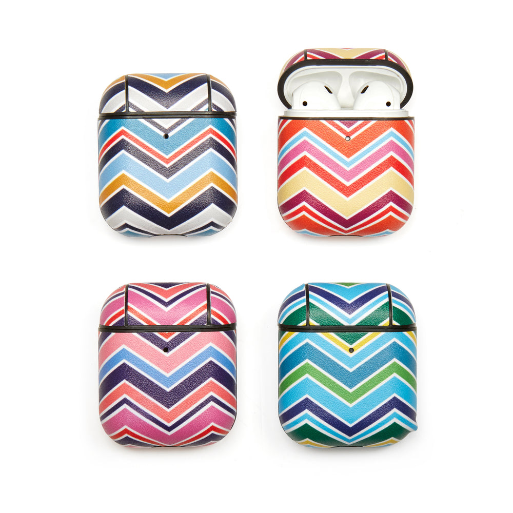 Striped Earbud Case